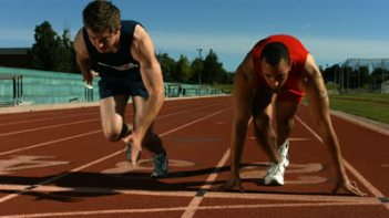 stock-footage-track-runners-at-starting-line-slow-motion